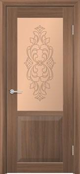 Стекло - матовое бронзовое с рисунком