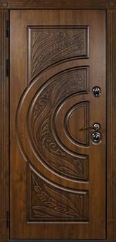 Входная металлическая дверь Сударь Прага (Дуб тёмный Винорит) - фото 21334