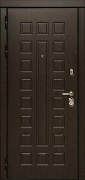 Входная металлическая дверь Дива МД-30 с зеркалом (Венге / Дуб белёный) - фото 21421