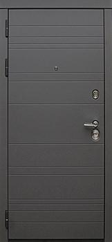 Входная металлическая дверь СУДАРЬ Дива МД-39 Серая матовая - фото 21430