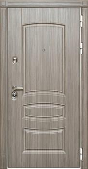Входная металлическая дверь Дива МД-42 (Сандал серый / Сандал белый) - фото 21441