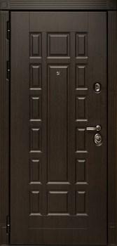 Входная металлическая дверь СУДАРЬ Дива МД-38 (Венге / Дуб Филадельфия крем) - фото 21449