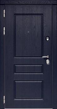 Входная металлическая дверь Дива МД-45 (Роял вуд Синий / Белый матовый) - фото 21452