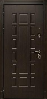 Входная металлическая дверь СУДАРЬ Дива МД-38 с зеркалом (Венге / Сандал белый) - фото 21457