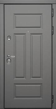 Входная металлическая дверь СУДАРЬ Дива МД-47 (Ясень графит / Белый матовый) - фото 21464