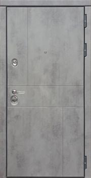 Входная металлическая дверь СУДАРЬ Дива МД-48 М-1 (Бетон Темный / Бетон Светлый) - фото 21466