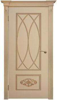 """Межкомнатная дверь """" Флоренция 2 """" ЭМАЛЬ Глухая Комфорт - фото 22634"""
