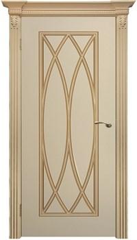 """Межкомнатная дверь """" Флоренция 3 """" ЭМАЛЬ Глухая Комфорт - фото 22639"""