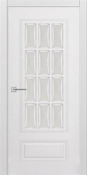 """Межкомнатная дверь """" КАРИНА 28 """" ЭМАЛЬ Остеклённая Комфорт - фото 22644"""
