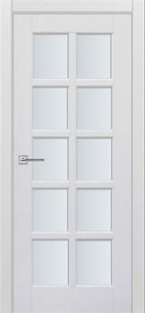 """Межкомнатная дверь """" ТУРИН 13  """" ЭМАЛЬ Остеклённая Комфорт - фото 22667"""