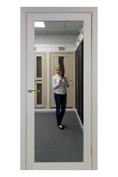 "Межкомнатная дверь "" ТУРИН 501.1 Зеркало "" Optima porte Экошпон - фото 22680"