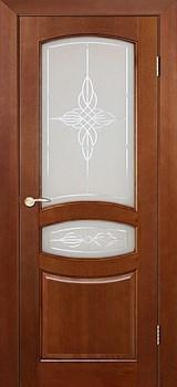"""Межкомнатная дверь """"Виктория"""" ДО Ирокко морение - фото 8664"""