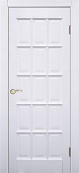 "Межкомнатная дверь ""Прима ДГ""  Белый жемчуг - фото 8674"