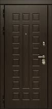 Входная металлическая дверь СУДАРЬ Дива МД-30 (Венге / Дуб белёный)